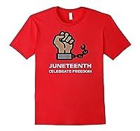 Junenth Junenth Celebration Shirts Red