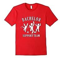 S Bachelor Shirt Gamer Shirt Bachelor Team Support T Shirt Red