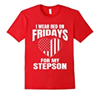 Deployed Stepson Homecoming Shirts Red