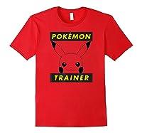 Pokemon Pikachu Trainer T-shirt Red