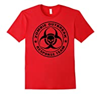 Shir Response Eam Back Prin Shirts Red