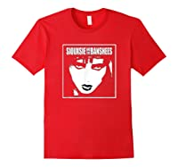 Siouxsie And The Banshees Siouxsie Sioux T Shirt Red