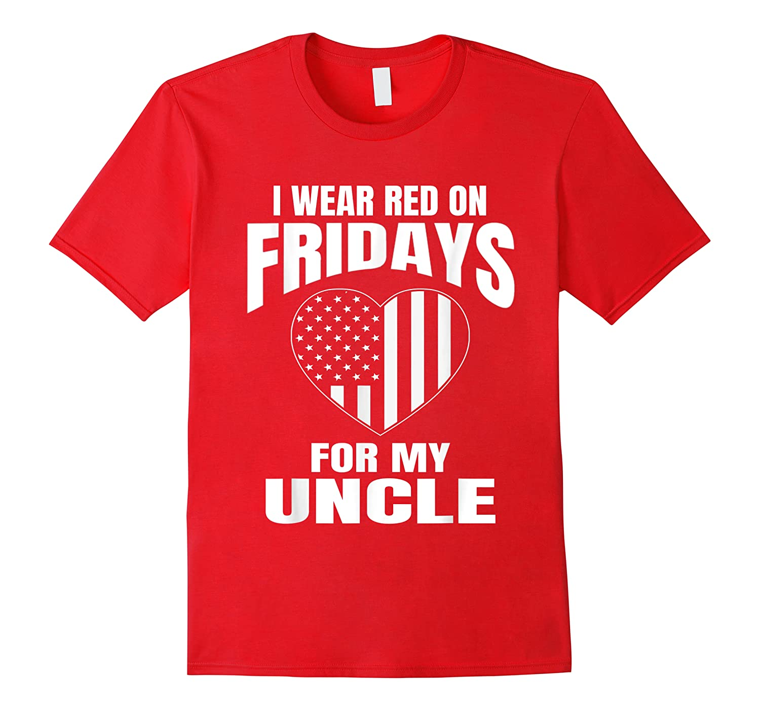 Red Fridays Deployed Uncle T-shirt