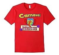 Carnaval De Barranquilla Marimonda T Shirt Red