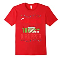 Funny Christmas Gift Gangsta Wrapper Shirts Red