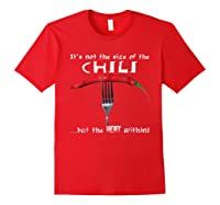 It S Not The Of The Chili Hot Pepper Shirt Red