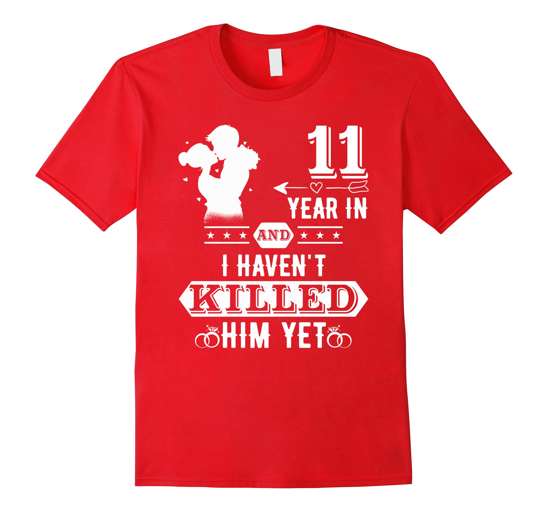 Couple T Shirts 11th Wedding Anniversary Gifts For Wife Ah My