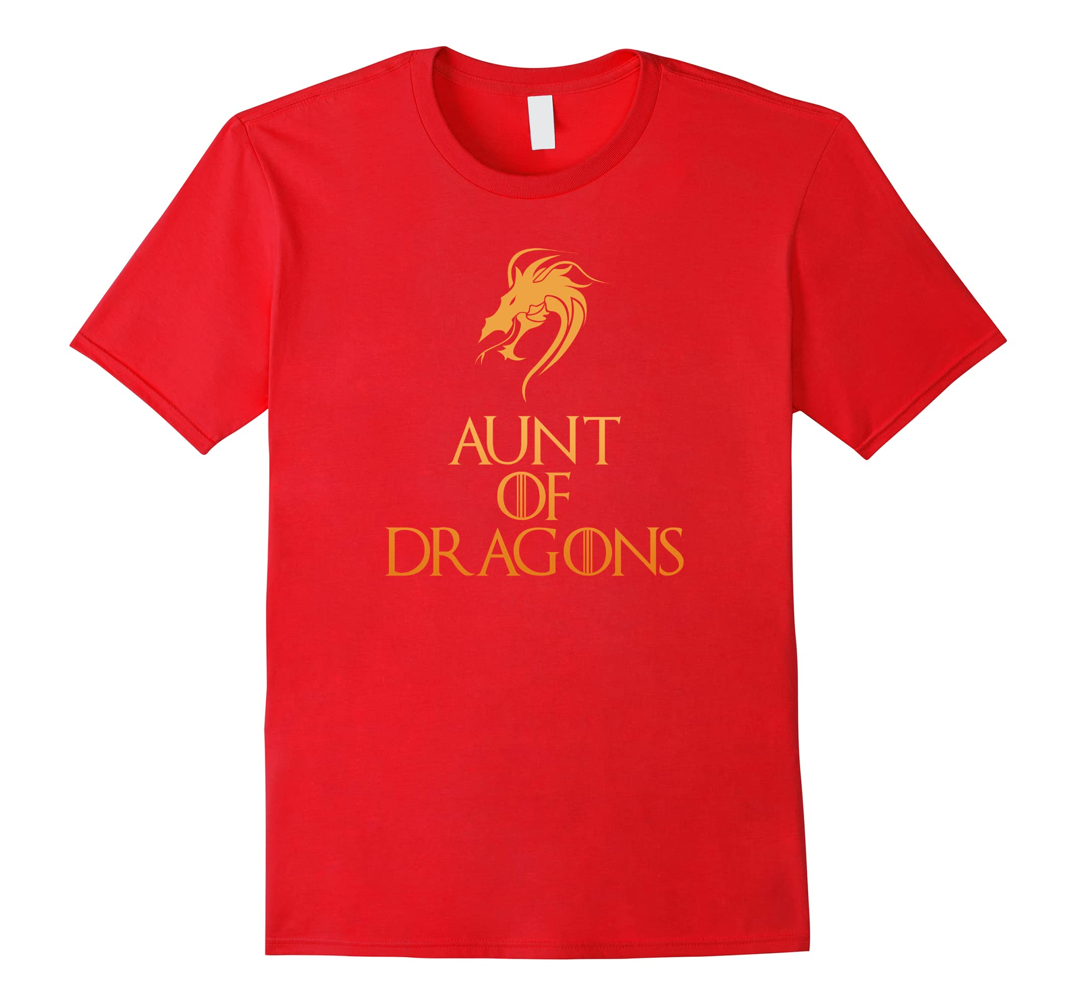 Aunt Of Dragons T-Shirt Funny Cool Family Fun Gift Top Tee-ah my shirt one gift