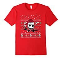 Nightmare Before Christmas Holiday Shirts Red
