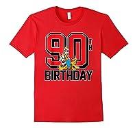 Disney Birthday Group 90th T Shirt Red