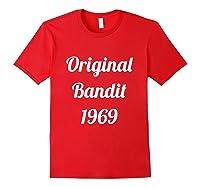 Original Bandit 1969 Retro T Shirt Red