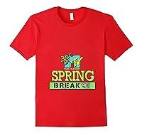 Best Of Mtv Spring Break 93 Classic Logo T-shirt Red