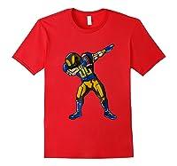 Football Dabbing T Shirt Funny Royal Blue Gold Navy Red