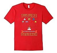 Video Game Designer Gamer S Gaming Shirts Red