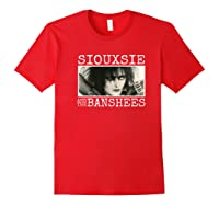 Siouxsie And The Banshees Siouxsie Sioux Premium T Shirt Red