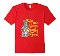 Roads To Hockey Country Fan Take Me Home Top Gift Tank Top Shirts Red