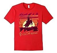 Rodeo 2019 T Shirt Houston Rodeo Cowboy Yiiihaaa Red