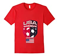 Soccer 2019 Usa Team Championship Cup Shirts Red