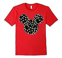 Disney Mickey Christmas Lights T Shirt Red