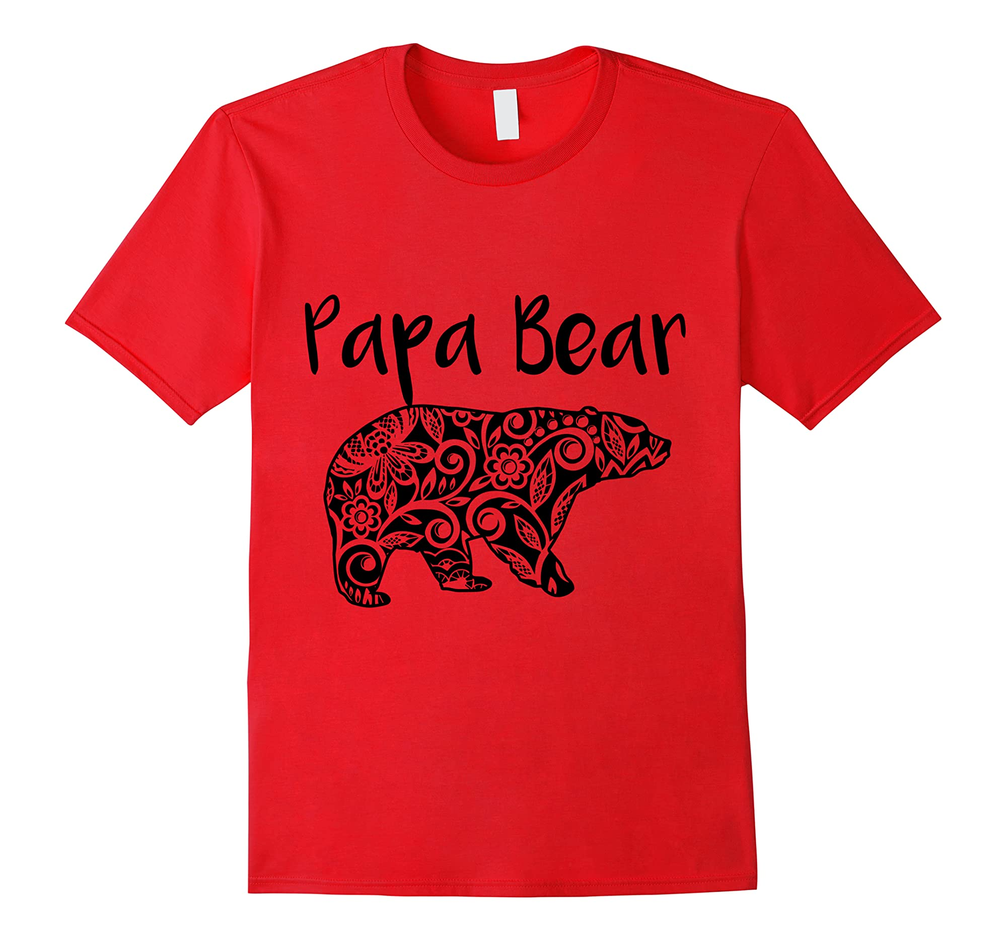 Fortuitous Dta Dta S Mama Papa Baby Bear Funny Family Matching Mother Day Ts Shirts Red