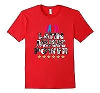 Fania All Star Latin Power Shirts Red