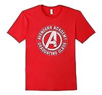 Marvel Avengers Academy Graduating Class Of 2019 Premium T-shirt Red