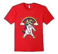 Lgbt Pride Month Unicorn Funny Rainbow Gay & Lesbian Gift Tank Top Shirts Red