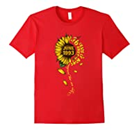 June 1993 26 Years Of Being Awesome Mix Sunflower Shirts Red
