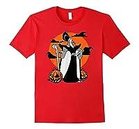 Disney Jafar The Powerful Halloween T Shirt Red