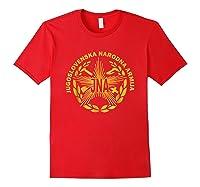 Jugoslovenska Nardona Armija Yugoslav People S Army Shirt Red