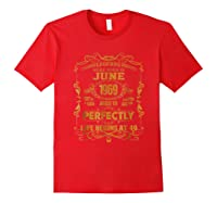Legends Born In June 1969 - 49th Birthday Gift For Shirts Red
