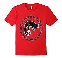 Chameleon Karma 80 S Retro 1980 S Pop Club Culture Shirts Red