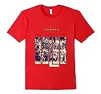 Fania All Star Best Singers Ever Salsa Power Tank Top Shirts Red