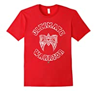 Ultimate Warrior Mask 1 Color Shirts Red