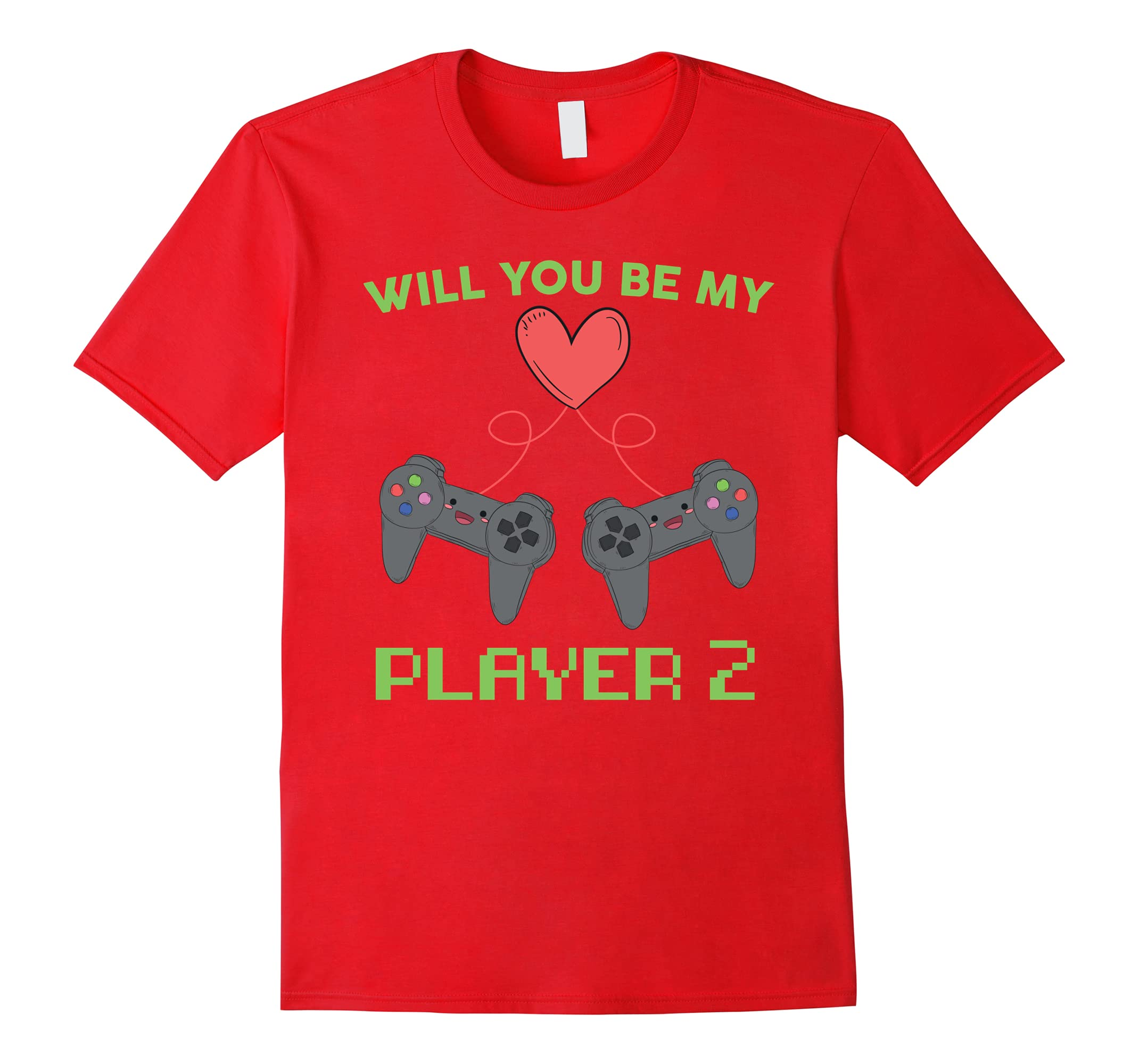Be My Player 2 T-Shirt - Fun Tee for Gamer Couples-ah my shirt one gift