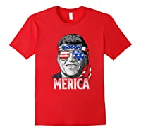 Kennedy Merica 4th Of July President Jfk Gifts Shirts Red