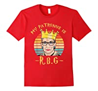 My Patronus Is Ruth Bader Ginsburg Shirt Notorious Rbg Gift Red