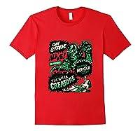 Vintage Halloween Killer Monster Horror Gift Shirts Red