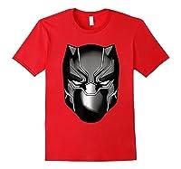 Black Panther Mask Shirts Red