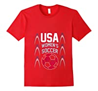 2019 Soccer Usa Team France Cup Tournat Shirts Red