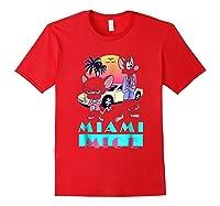 Miami Mice Shirts Red