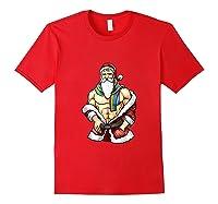 Gay Pride Month Santa Lgbtqqiaap Christmas Rainbow Holiday Shirts Red
