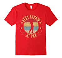 Best Papaw By Par Daddy Father's Day Gifts Golf Shirts Red