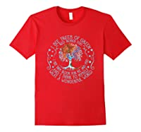 And I Think To Myself What A Wonderful World Shirts Red