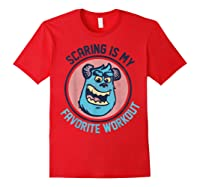 Pixar Monsters University Sulley Face Shirts Red