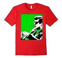 John F Kennedy 35th President - Jfk Smoking Cigar Blunt Premium T-shirt Red
