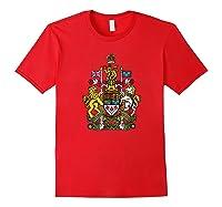 Canada Coat Of Arms Flag Souvenir Ottawa Shirts Red