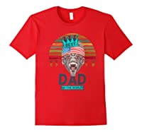 Funny Fathers Day Best Dad Ever Gorilla 4th Of July Premium T-shirt Red