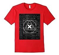 Playstation Playstation Woodcut 2 Shirts Red