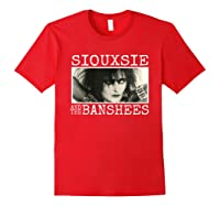 Siouxsie And The Banshee Siouxsie Sioux T Shirt Red